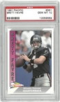 Brett Favre PSA 10 1991 Pacific Rookie Card