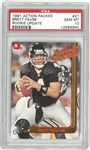Brett Favre PSA 10 1991 Action Packed Rookie Card
