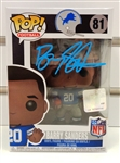 Barry Sanders Autographed Funko Pop Figure