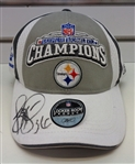 Jerome Bettis Autographed Super Bowl XL Hat