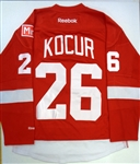 Joe Kocur Worn Jersey from Final Game at Joe Louis (Kocur Collection)