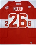 Joe Kocur Worn 2014 Winter Classic Alumni Jersey (Kocur Collection)