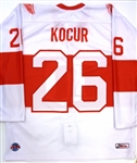 Joe Kocur Worn Red Wings Alumni Association Jersey (Kocur Collection)