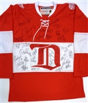 2014 Winter Classic Alumni Jersey Signed by Wings Stars @ 12/31/2013 Outdoor Alumni Game (Kocur Collection)