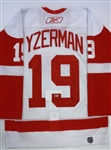 Steve Yzerman Autographed Retirement Night Authentic Jersey (Kocur Collection)