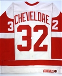Tim Cheveldae Game Worn? Jersey (Kocur Collection)