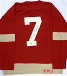 Ted Lindsay Autographed Red Wings Sweater (Kocur Collection)