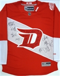 Red Wings Alumni Multi-Signed 2016 Stadium Series Jersey w/ 22 Autos (Kocur Collection)