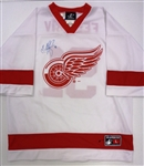 Sergei Fedorov Autographed Short Sleeve Jersey (Kocur Collection)