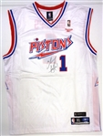 Chauncey Billups Autographed Jersey