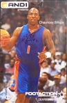 Chauncey Billups Autographed 10x16 Poster
