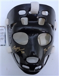 Gerry Cheevers Autographed Replica Goalie Mask Inscribed