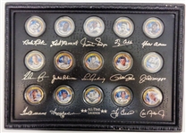 MLB All Time Legends Quarters Set