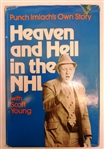 Punch Imlach Autographed Heaven and Hell Book
