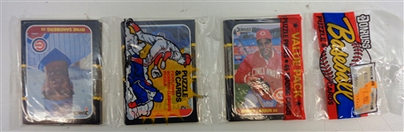 1987 Donruss Rack Pack w/ Larkin RC Showing
