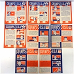 1940 Wheaties Panels Partial Set