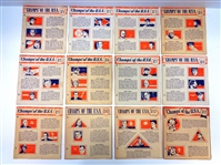 1941 Wheaties Panels Partial Set
