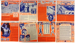 1939 Wheaties Panels Partial Set
