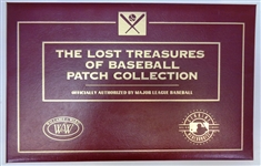 The Lost Treasures of Baseball Patch Collection