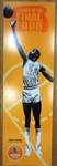 James Worthy & Rebecca Lobo Lot of 2 22x70 Final Four Display (Pick Up Only)
