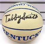 Tubby Smith Autographed Kentucky Ball