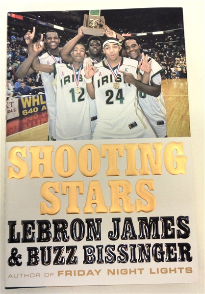 "Lebron James Autographed ""Shooting Stars"" Book"