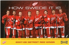 How Swede it is 11x17 Signed by All 8