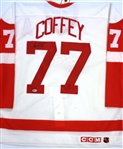 Paul Coffey Autographed Authentic Red Wings Jersey