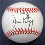 Dan Petry Autographed Baseball