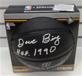 Dave Bing Autographed Black Basketball w/ HOF
