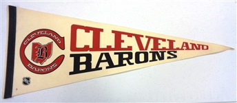Cleveland Barons Vintage Pennant