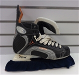 Dan Cleary Autographed Game Used Skates