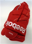 Darren Helm Game Used Autographed Glove