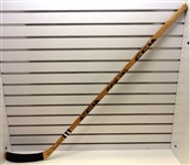 Rejean Houle Game Used Autographed Stick