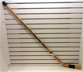 Brian Sutter Game Used Autographed Stick