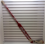 Chris Osgood Game Used Autographed Stick