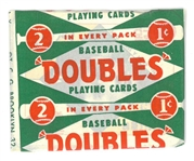 1951 Topps Red Backs Wax Pack
