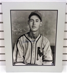 Ted Williams Autographed 16x20 Matted Photo